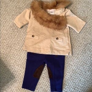 Janie and Jack infant girls 3 to 6 months 2 piece